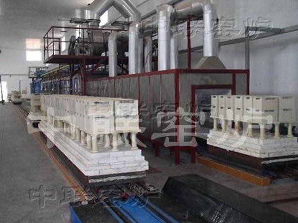 38M×0.85M液化气隧道窑(山东威海)