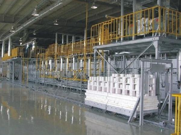 南京柯瑞65米蜂窝瓷隧道窑