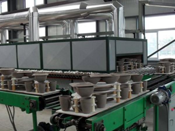 山西高陶瓷业80米素烧辊道窑